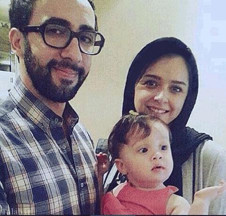 ترانه علیدوستی در کنار همسر و فرزندش (عکس)