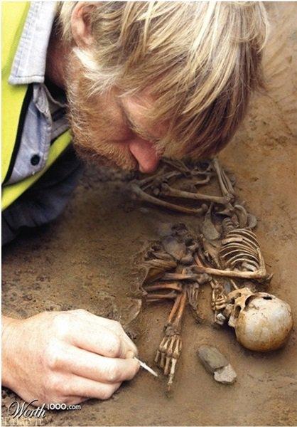جنجال پیدا شدن اسکلت انسان های غول پیکر (عکس)