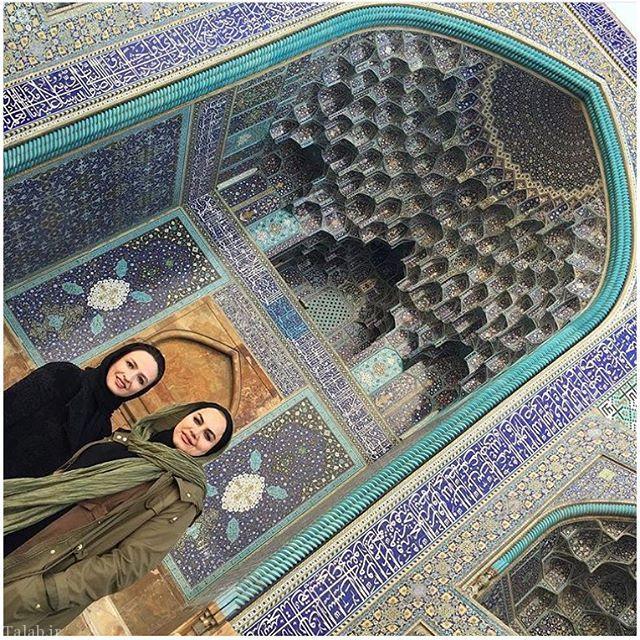 گلاره عباسی در اصفهان (عکس)
