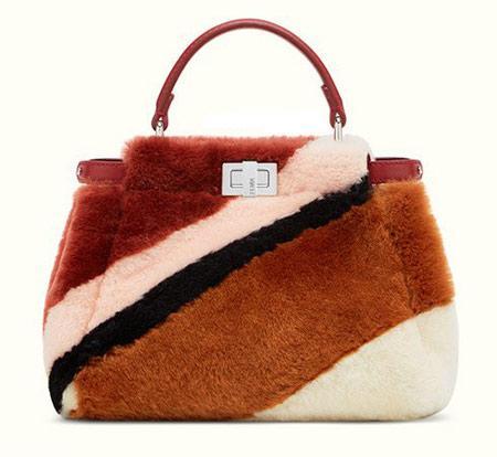 مدل کیف های شیک زمستانی مارک فندی