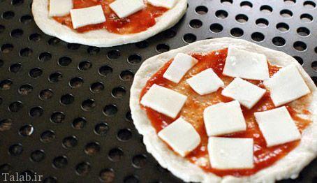 چگونه پیتزا برگر خوشمزه درست کنیم؟