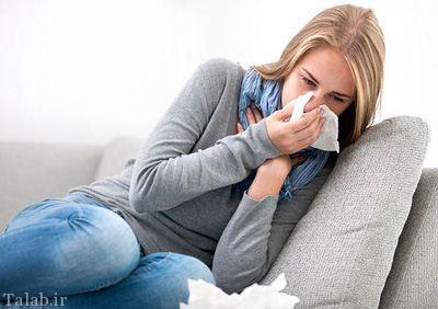 10 راه درمان سرماخوردگی در خانه