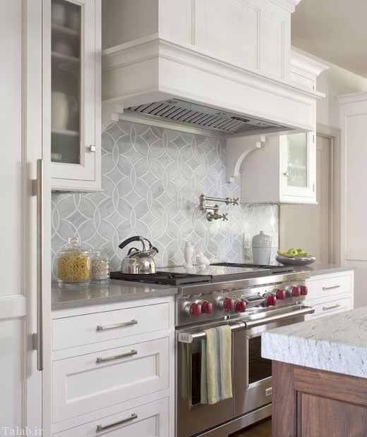 چیدمان زیبا و شیک آشپزخانه ایرانی
