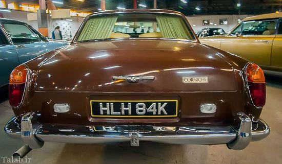 تصاویر دیدنی از موزه ماشین های قدیمی در تهران