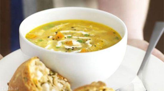 طرز درست کردن سوپ ژولین