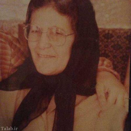 عکس کمیاب از مادر فاطمه گودرزی