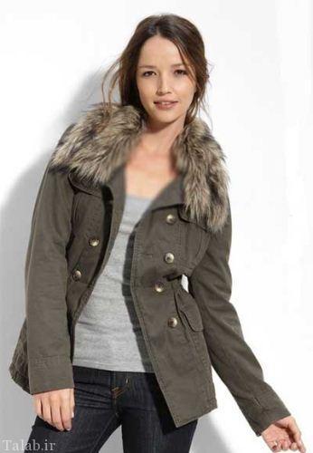 مدل های زیبا و جدید کاپشن زمستانی دخترانه