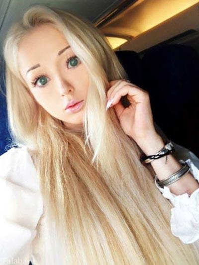 دختر اوکراینی که یک باربی واقعی است (عکس)