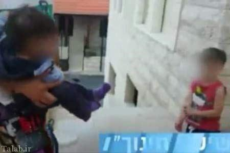 تنبیه بیرحمانه دختر بچه توسط پدرش + عکس