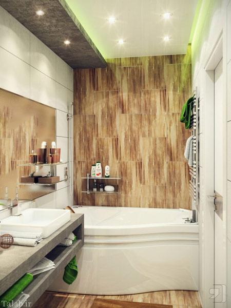 دکوراسیون جدید و شیک سرویس بهداشتی و حمام