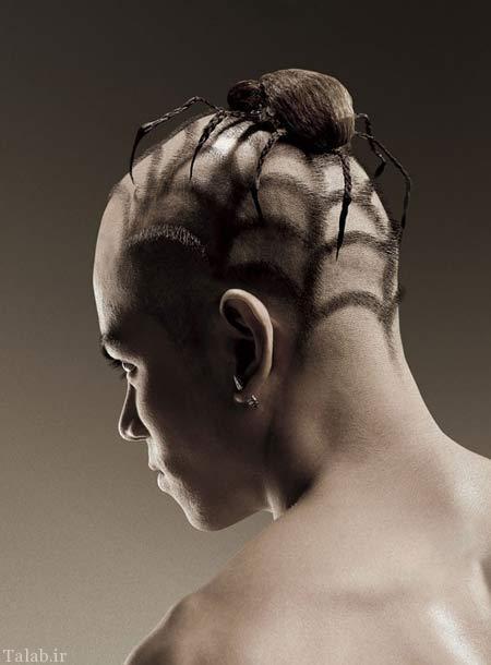 عکس مدل مو عجیب و خنده دار