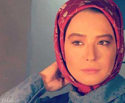 سلفی جذاب مهراوه شریفی نیا و کارگردان کیمیا