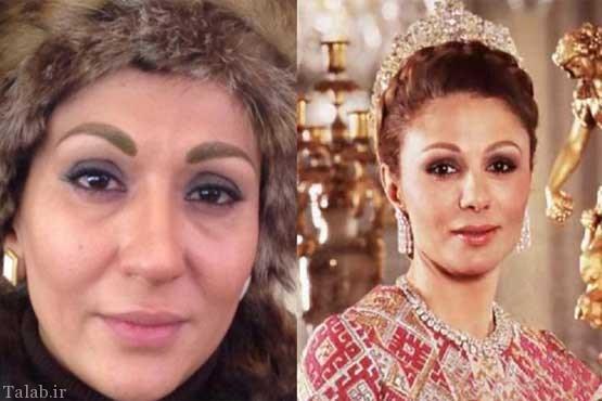 بازیگرانی که همسر محمدرضا شاه شدند + عکس