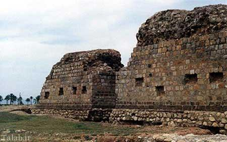 آتشکده چهار قاپی در شهر مرزی قصرشیرین