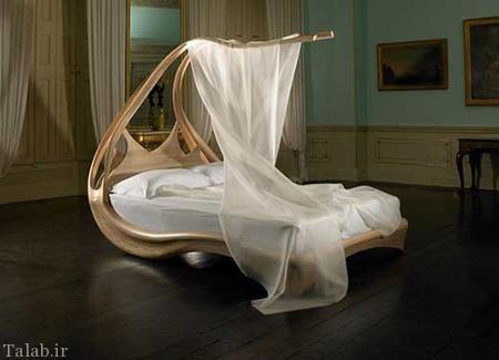 مجموعه تخت خواب های عجیب و غریب