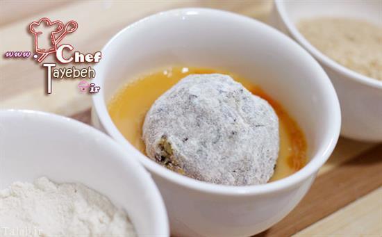 کوفته بادمجان پخت کوفته بادمجان تهیه کوفته بادمجان,نحوه پخت کوفته بادمجان,طرز پخت کوفته بادمجان,آموزش آشپزی,سایت آشپزی,مواد لازم برای کوفته بادمجان,طرز