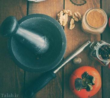 طرز تهیه شیرینی خرمالو