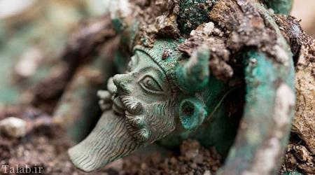 آثار باستانی ارزشمند کشف شده در سال 2015 (عکس)