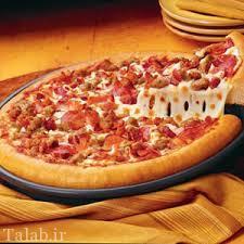 طرز تهیه پیتزا تنوری با گوشت