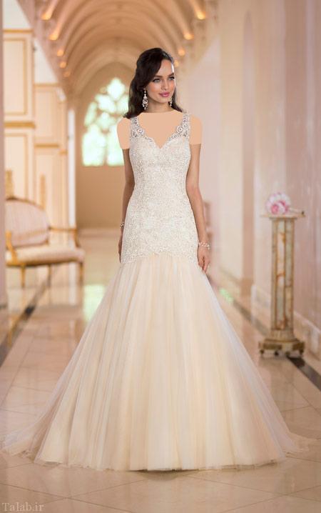 مدل جدید و شیک لباس عروس مجلل