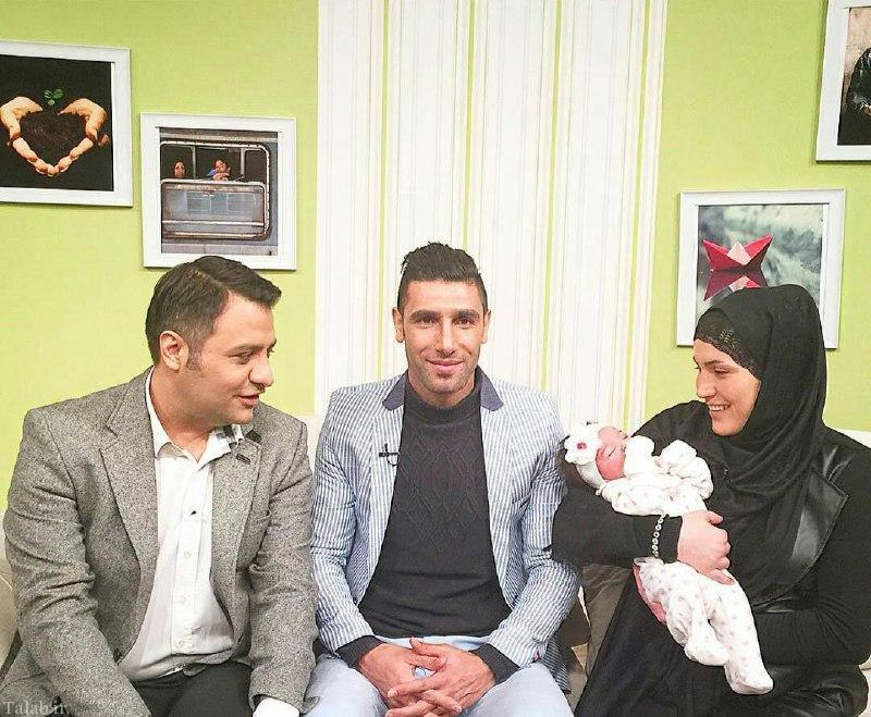 فرزند تازه به دنیا آمده زوج فوتبالیست ایرانی (عکس)