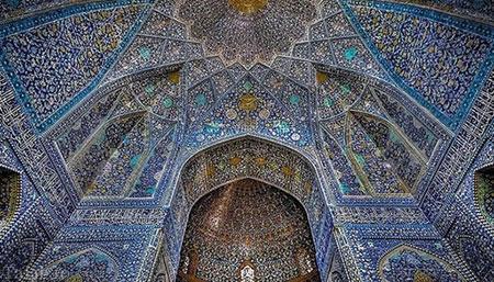 تصاویری از گنبدهای اعجاب انگیز و زیبای ایرانی
