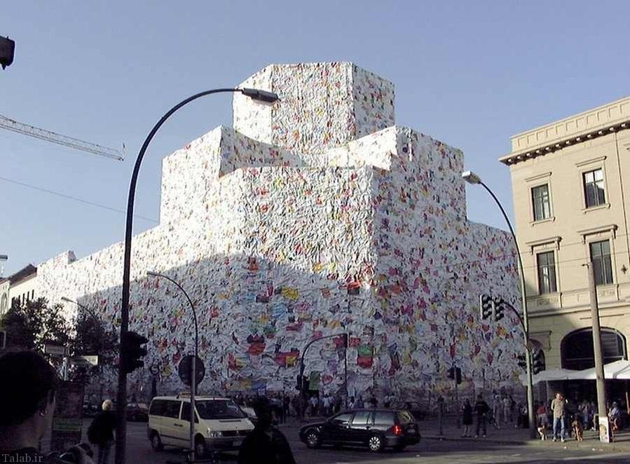 ساختمان نامه های عشق در آلمان + تصاویر