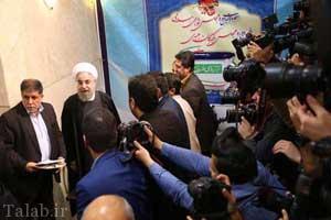 تصاویر ثبت نام رئیس جمهور در انتخابات خبرگان رهبری