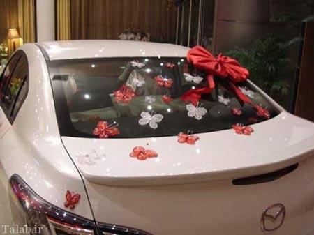 تصاویری از شیک ترین ماشین های عروس در پایتخت