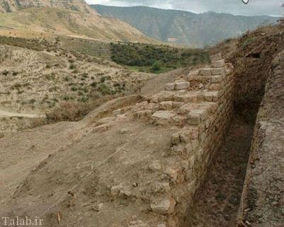 آشنایی با دیوار مشهور گرگان + عکس