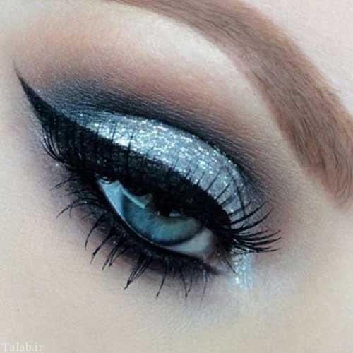مدل های جدید و زیبای آرایش زمستانی چشم