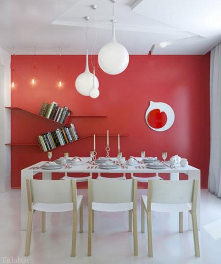 با انتخاب صحیح رنگ دکوراسیون فضای خانه تان را دگرگون کنید