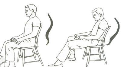 نشستن صحیح روی بدن اثر مثبت دارد