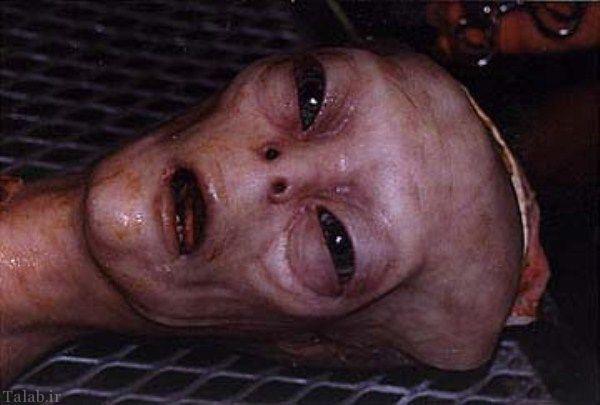 اولین تصویر گرفته شده از یک آدم فضایی (عکس)