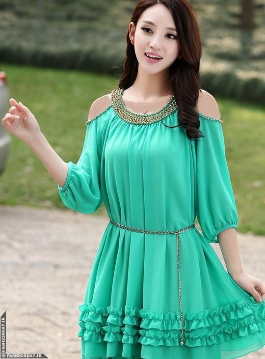 مدل پیراهن و بلوز دخترانه کره ای