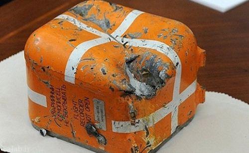 جعبه سیاه جنگنده ساقط شده روسی (عکس)
