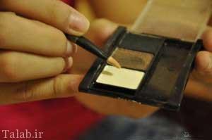 آموزش گام به گام آرایش لب