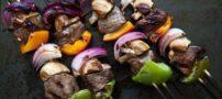 طرز تهیه کباب گوشت لذیذ با سس مخصوص