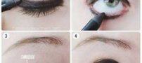 آموزش آرایش چشم دودی با سایه اکلیلی