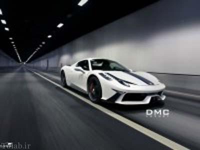طراحی خودروی فراری جدید 458 DMC