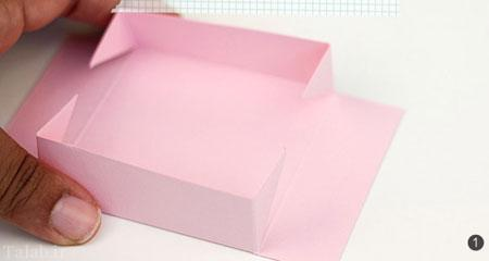 آموزش ساختن جعبه گلبرگی در خانه