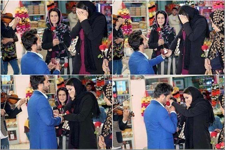خواستگاری جالب پسر از دختر در فرودگاه کابل (عکس)