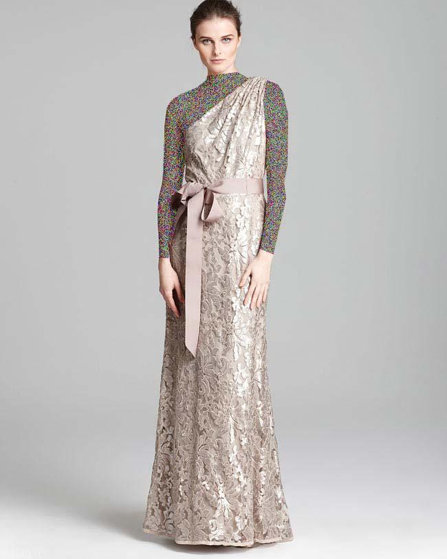 مدل لباس زنانه طرح بلند (2)