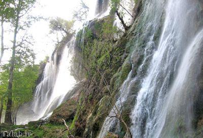 معرفی آبشار بی نظیر زرد لیمه + تصاویر