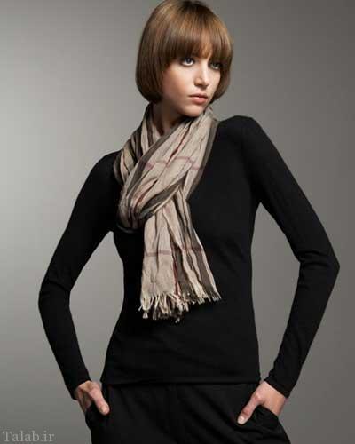 مدل های جدید شال و دستمال گردن زنانه