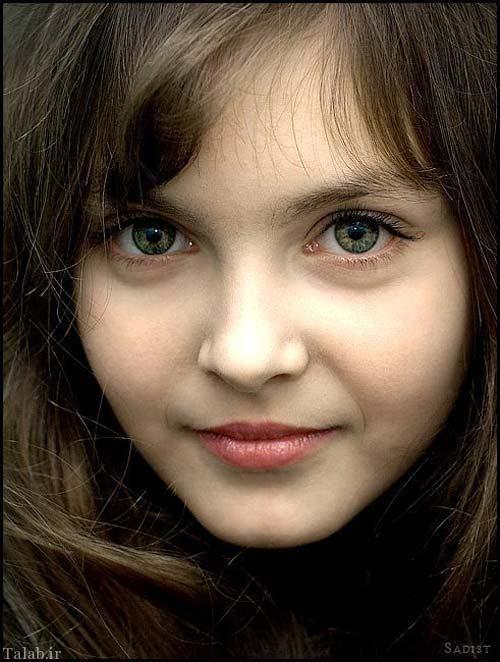 دختر ناز و زیبا که نامش در گینس ثبت شد (عکس)