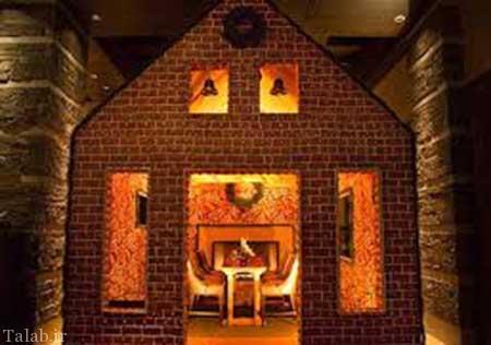 خانه ی بامزه ساخته شده از شیرینی (عکس)