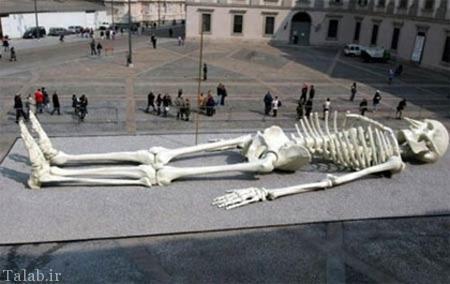 تصاویر دیدنی از 12 مجسمه غول پیکر و عظیم