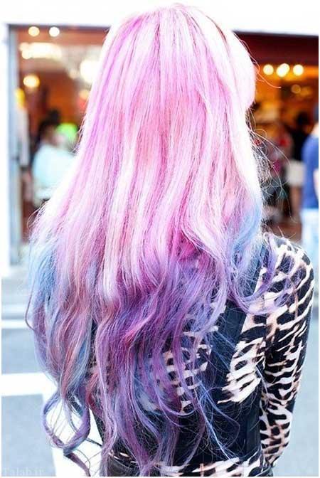 سری جدید رنگ موی زنانه جذاب و زیبا