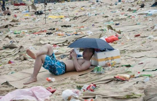 تصاویر یکی از سواحل چین